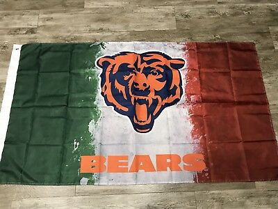 Chicago Bears 3x5 Mexico Flag. US seller. Free shipping within the US