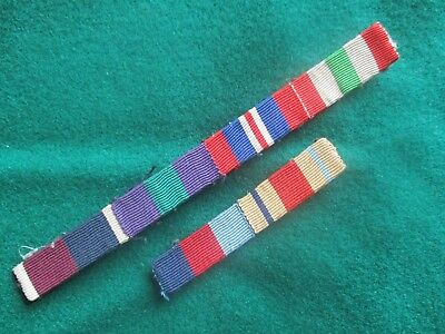 Vintage military ribbons  [ two ]