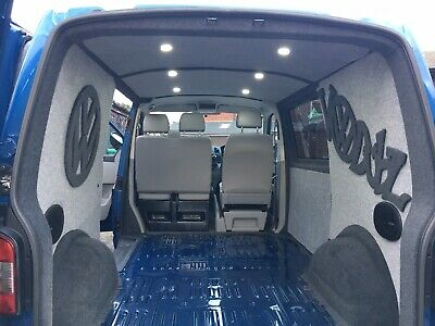 VW T4 T5 T6 Caddy Carpet Lining Service Sound Proofing Insulation