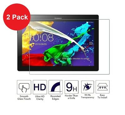 2 Pack Tempered Glass Screen Protector for Lenovo Tab E10 10.1 Inch 16GB Tablet