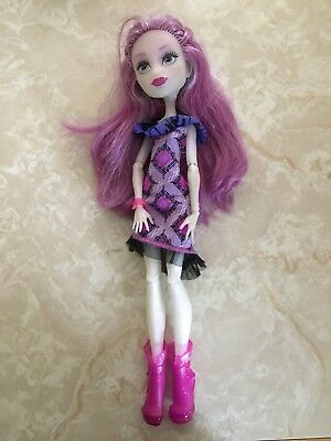 "Monster High 11"" Doll ARI HAUNTINGTON POPSTAR First Day Of School Welcome To"