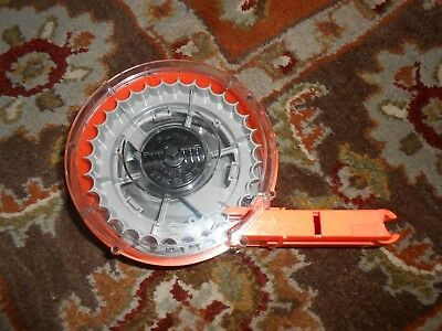 Nerf N-Strike CLEAR 35-Round Drum Clip 35-Shot Dart Gun Ammo Magazine Barrel