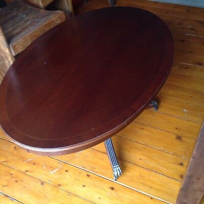 Reproduction Coffee Table Claw Feet And Wheels