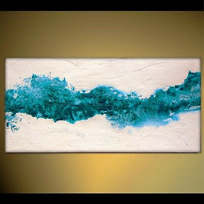 Textured Large Wall Art Fluid Acrylic Abstract Painting by Holly Anderson