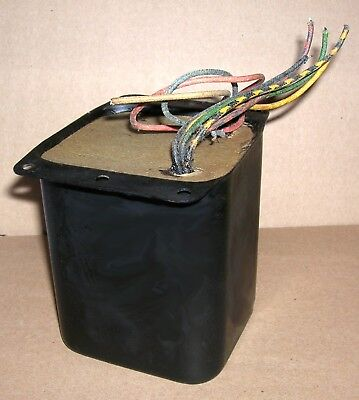 1958 Stancor HI-FIDELITY output transformer (from A-9C), 20hz to 20khz ~ Clean!