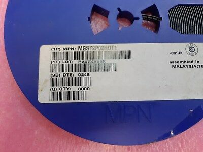Lot x  3000 MGSF2P02HDT1  Power MOSFET  2 Amps, 20 Volts  P−Channel TSOP−6