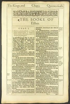 1609 King James Bible. Believe That? How About Ocean Front Property In Arizona?