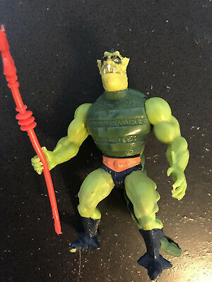 He-Man Masters of the Universe WHIPLASH action figure - Vintage, COMPLETE