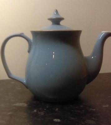 Denby Colonial Blue 2 Pint Teapot