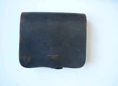 J.E. Condict Marked 1861 Pattern Infantry Cartridge Box-- Nice