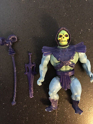 He-Man Masters of the Universe SKELETOR action figure - Vintage, Complete