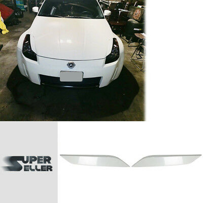 PAINTED #QX1 For 350Z Z33 FAIRLADY Z COUPE HEDALIDS EYEBROWS EYELIDS 03-08