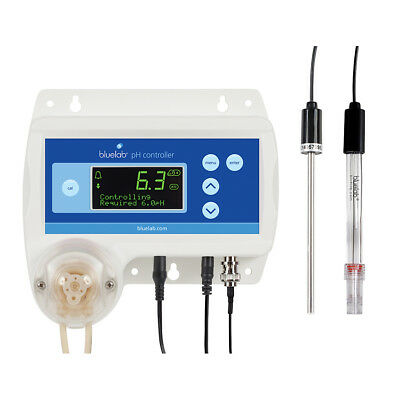Bluelab pH Controller - Monitor Digital Automatic pH Solution Dosing LCD Display