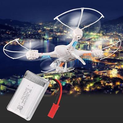 3.7V 750mAh Lithium Battery - Spare Parts for Quadcopter Drone MJX X300C GS8D US