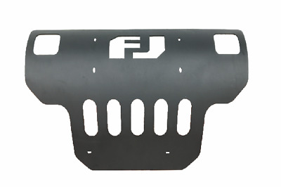 Mild Steel Matte Black Skid Plate Brush Insert Protector for 2007-14 FJ Cruiser