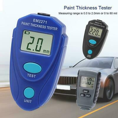 RM660/EM2271A/EM2271 LCD Digital Paint Coating Thickness Gauge Tester for Cars