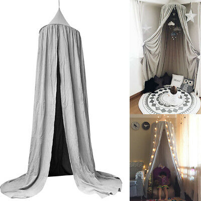 Bed Canopy Netting Bedcover Mosquito Curtain Bedding Dome Tent Cotton Material