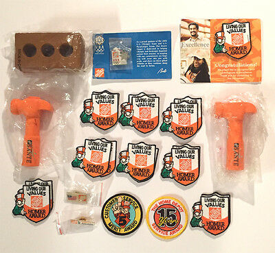 Home Depot Patches and Pins 25 PC LOT