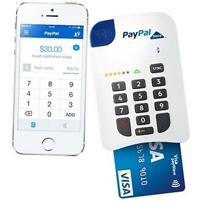 PAYPAL Here Chip N Pin Card Reader to Accept Payments on Your Mobile Device