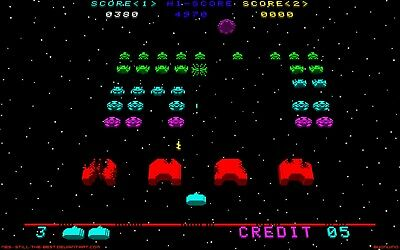 Space Invaders Classic retro Arcade Game Flag Banner  Hanging Large 90 X 150 cm
