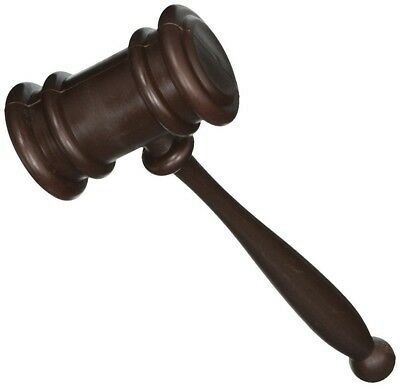 Judge Court Gavel Costume Prop Accessory