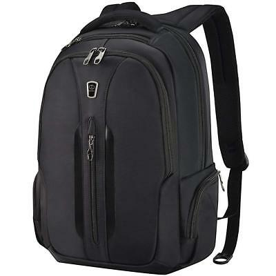 Travel Laptop Backpack 15.6 Inch Anti-Theft Water Resistant Computer Bag Black