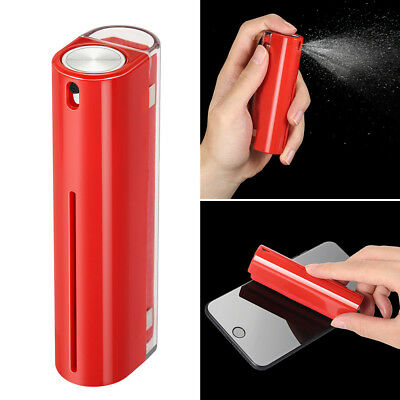 Screen Cleaner Spray Fiber Cloth Cleaning Tool For Computer Tablet Phone Laptop