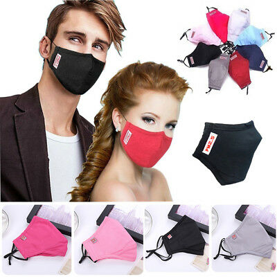 Unisex Fashion Health Cycling Anti-Dust Cotton Mouth Face Mask Respirator