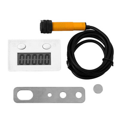 Digital Electronic Counter Punch Counter With Microswitch Reset Pause 5 Digit