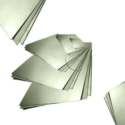 Aluminium Sheet Plate 1.0,1.2,1.5,2.0,3.0mm Thick Guillotine Cut Choose a Size