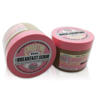 Brand New Soap And Glory Smoothie Star Breakfast Scrub Body Smoother 300ml