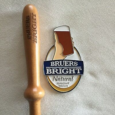 BRUERS BRIGHT - Natural Bright Beer tap Top and Handle