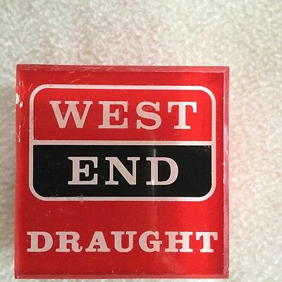 WEST END  DRAUGHT Beer tap Top in Great Condition