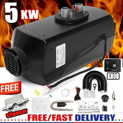 5000W Air diesel Heater 5KW 12V For Trucks Motor-Homes Boats Bus + Knob Switch