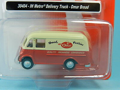 Classic Metal Works 30404 Ih Metro Delivery Truck Omar Bread 1:87