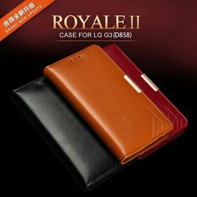 KLD Royale II Calf Leather Wallet Case Cover LG G4 H815 H815TR H815P H818N H811