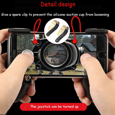3in1 Android Mobile PUBG Game Controller Joystick Shooter Legend Gamepad Trigger