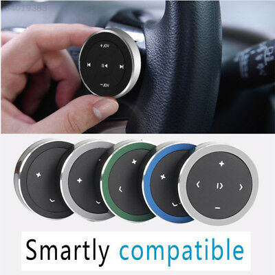 1FD7 Car Steering Wheel Mobile Phone MP4 Music Player Universal Media Button