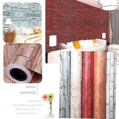 7D77 Brick Style Self-adhesive Wallpaper Wall Sticker Panels Decal Home Decor