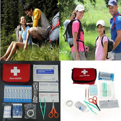 11pcs/set Family First Aid Kit Rescue Outdoor Emergency Bag Case Survival