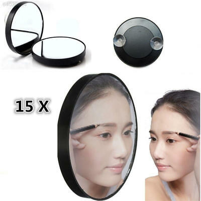 "FC7A EB1E 15X Magnifying Mirror 3.5"" Suction Cup for Beauty Makeup Face Bathroom"
