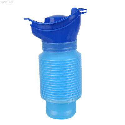 413A Kids Boy Girl Portable Urinal Outdoor Toilet Potty Pee Bottle 750ml Blue