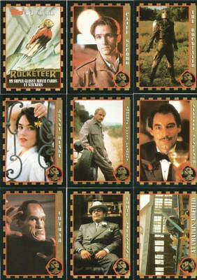 The Rocketeer - Complete Card / Sticker Set (99/11) - 1991 Topps - NM