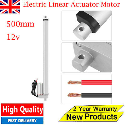Heavy Duty Lifting DC 12V 500mm Stroke Load Electric Linear Actuator Motor UK