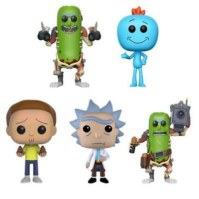 Funko Pop Rick and Morty Vinyl Action Figure Toy Doll Kids Xmas Gift In Box UK