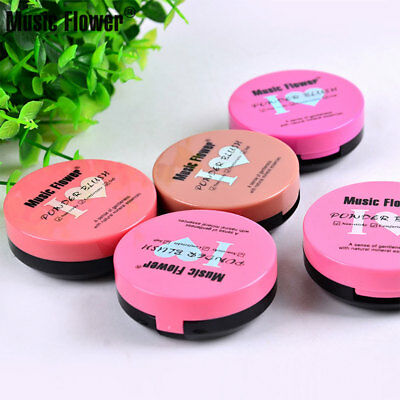 29E2 Face Blush Cosmetic Baked Cheek Color Bright Blusher Cream Shading Makeup