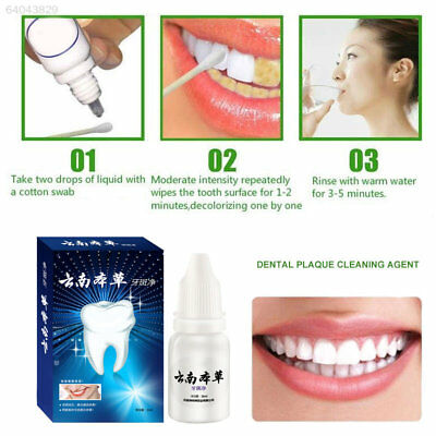 A292 7689 10ml Bright White Clear Teeth Halitosis Whitening Dentifrice 7B2B