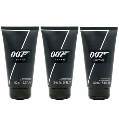 James Bond 007 Seven 3 x 150 ml Showergel Duschgel Set