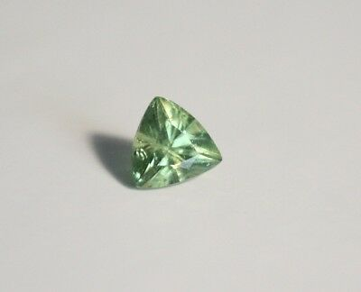 0.52ct Demantoid Garnet - Rare Top Colour & Clarity Trillion Cut Gem