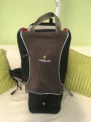 LittleLife Cross Country Baby / Child Backpack Carrier VGC